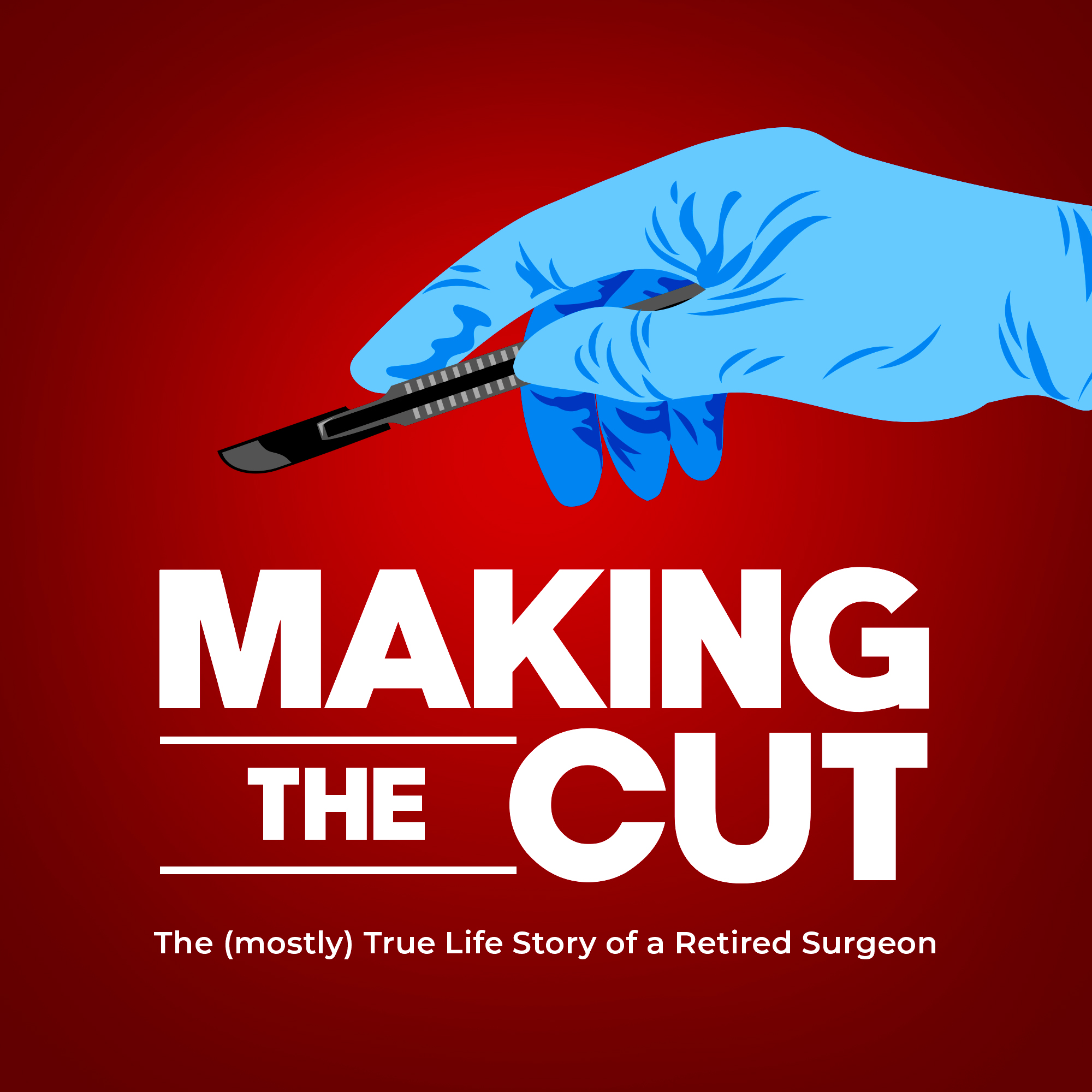 Making The Cut Podcast Cover Art